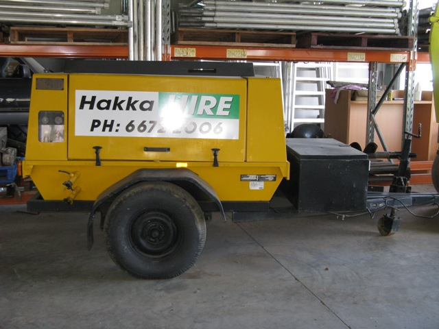 Air Compressors and Tools for Hire
